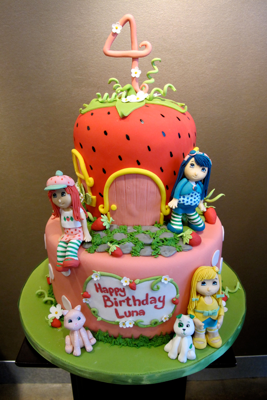 Stupendous Strawberry Shortcake Grows Up Zingermans Bakehouse Personalised Birthday Cards Cominlily Jamesorg