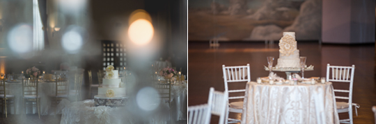 Left: Photo by Rachel Shomsky; Right: Photo by Tammy LaBar Weddings
