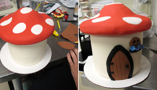 making-the-mushroom