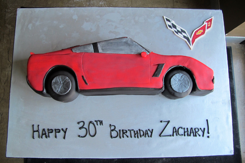Birthday-Corvette-Cake