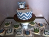 Owl Cookies and Cake