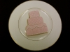 Pink Cake on a plate