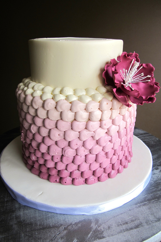 Ombre-buttercream